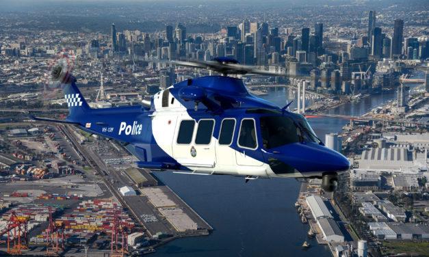 Three AW139 for the Victoria Police in Australia