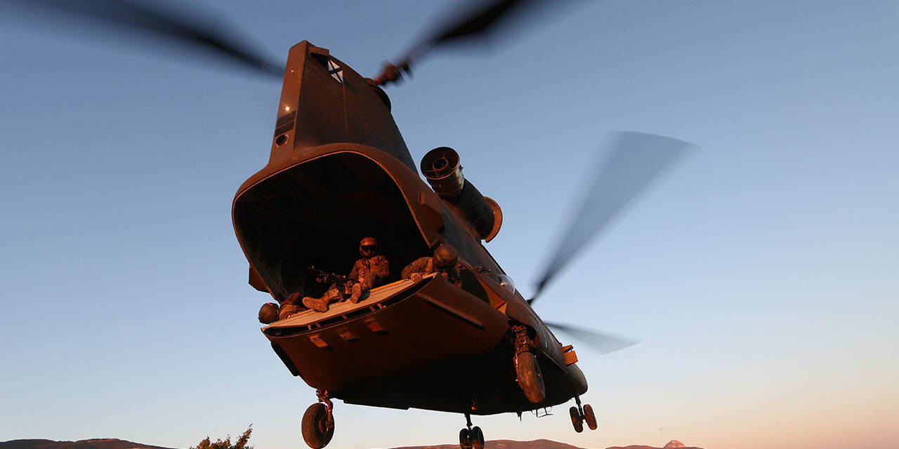 Indestructible Chinook