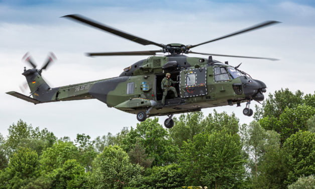 Bundeswehr's NH90 fleet will be maintained by Airbus Helicopters and Elbe Flugzeugwerke