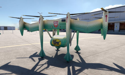 Bell autonomous pod transport 70 achieves first flight