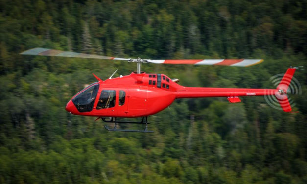 Garmin to certify GFC 600H helicopter flight control system on the Bell 505 Jet Ranger X