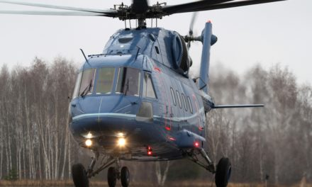 Mi-38 was issued a certificate for its highly comfortable cabin