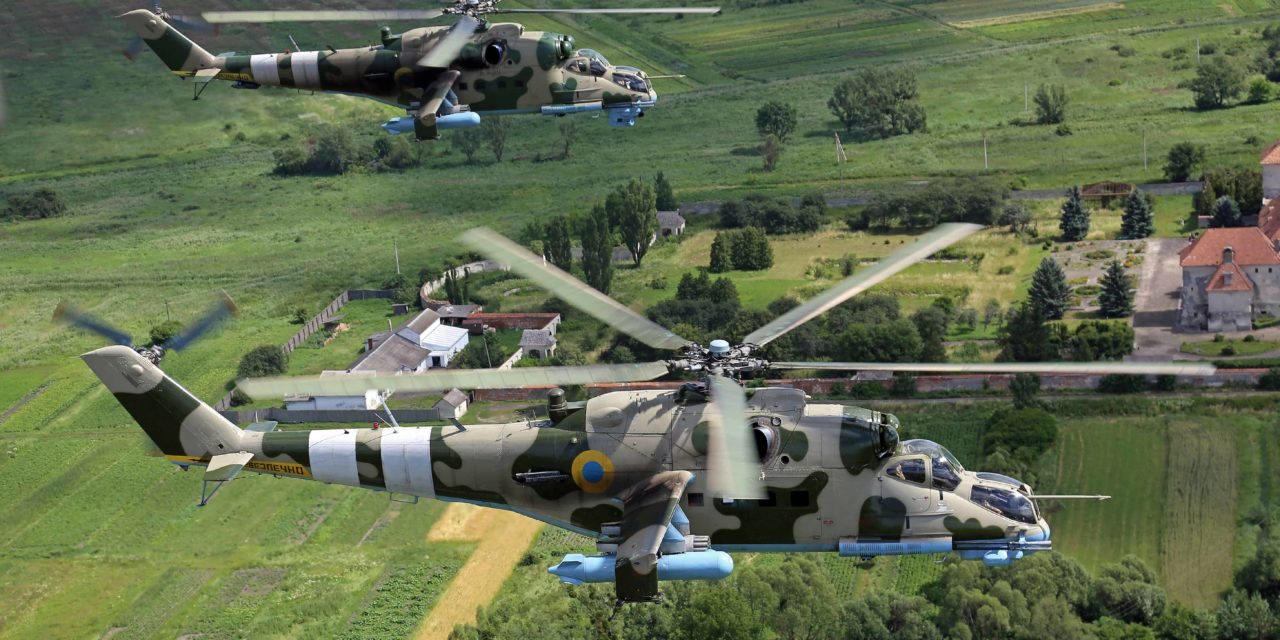 The Ukrainian army helicopter brigade in managing the balance between UN (United Nations) and ATO (Anti- Terrorist Operation)