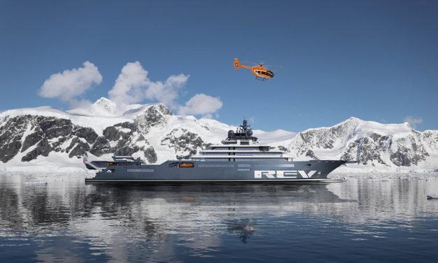 ACH145 on superyacht
