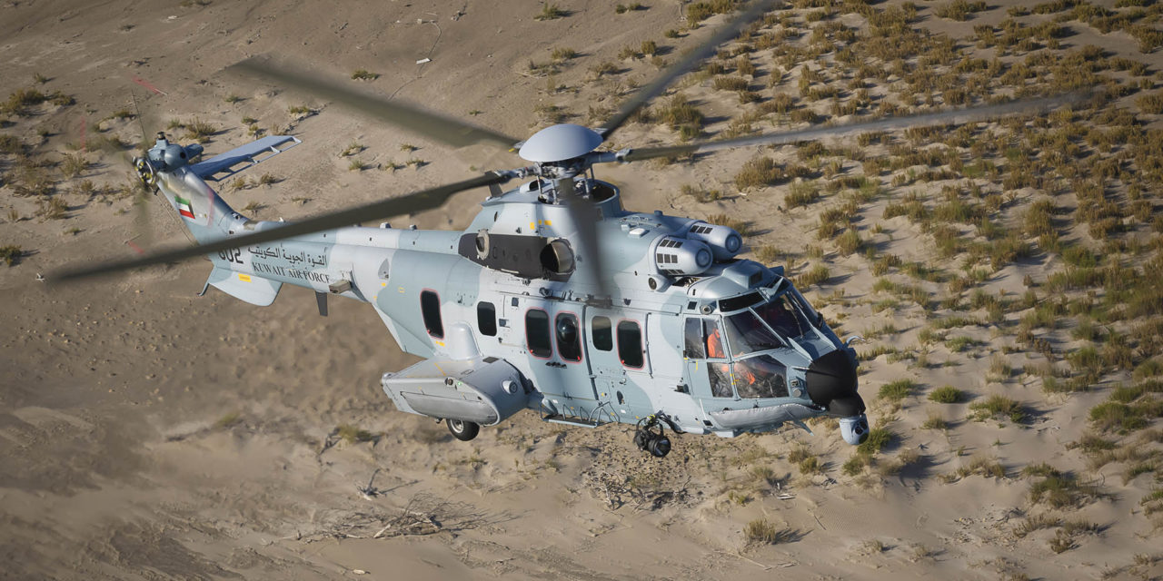 Flight testing begins for the first H225Ms for Kuwait