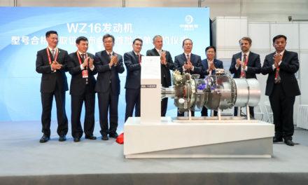 Safran and AECC introduce the WZ16