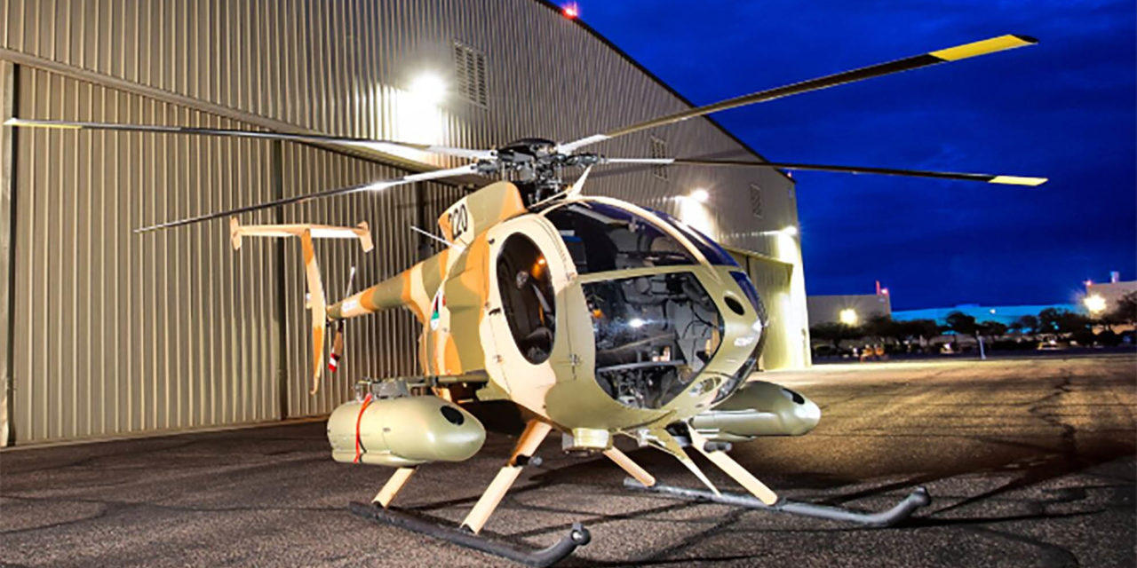 MDHI completes delivery of first 30 MD530F for Afghan Air Force