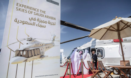 Increased demand for commercial helicopter services in the Kingdom of Saudi Arabia