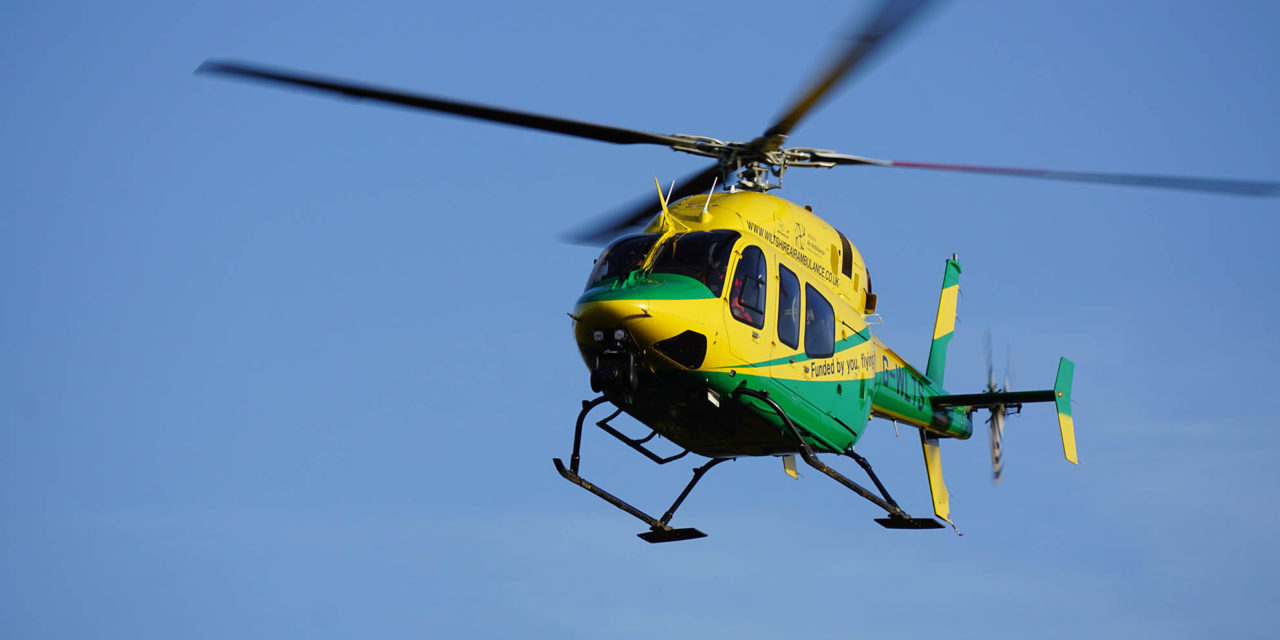 Wiltshire Air Ambulance receives AOC and resumes flying