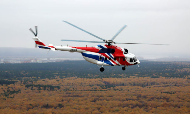 Mi-171A2 helicopter certified in India and Colombia