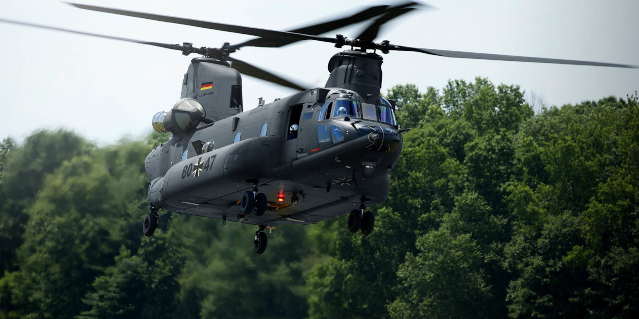 Boeing responds to Germany's Heavy Lift Helicopter invitation to tender