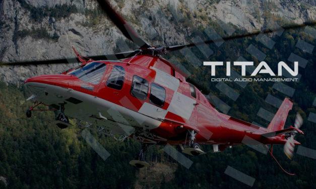 Cobham launches Titan Digital Audio Management series