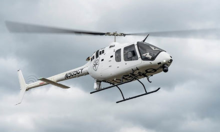 First Bell manufactured public safety configured Bell 505 delivered