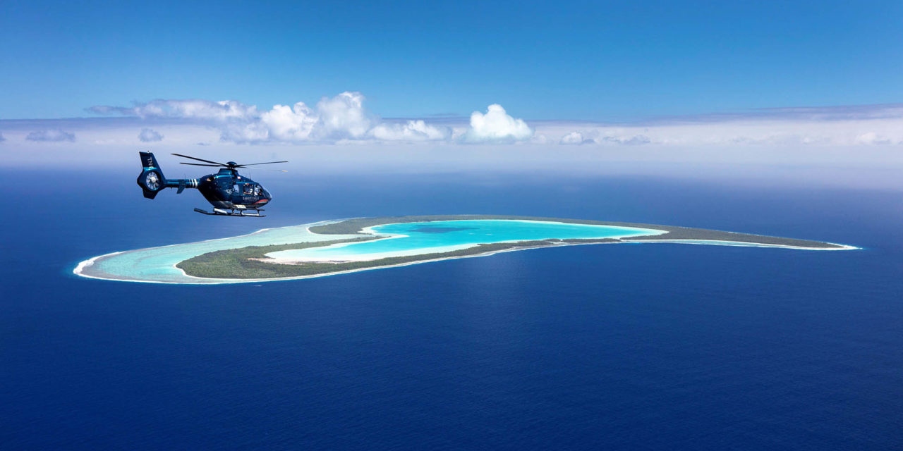 Helicopters in paradise