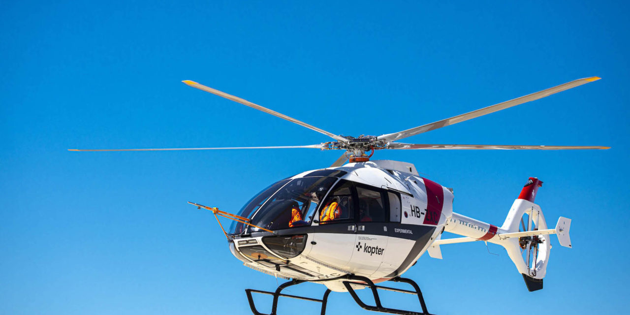 Kopter presents the SH09 final design features at Heli-Expo 2020