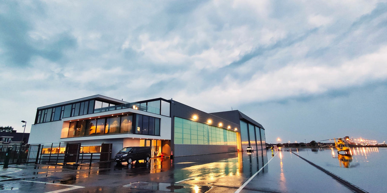 New maintenance hangar for NHV in Ostend