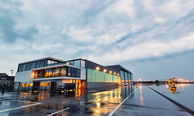 New maintenance hangar for NHV in Ostend