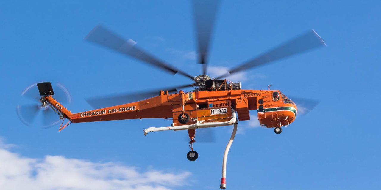 Erickson Generates global demand for The S-64 Air Crane