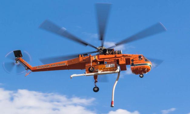 Erickson Generates global demand for The S-64 Air Crane