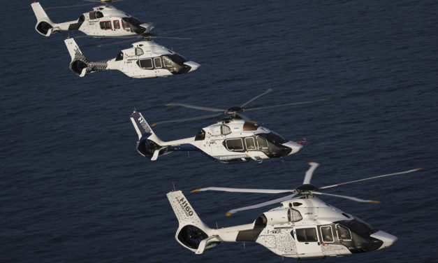 Four H160s for the French Navy's search and rescue missions