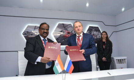 Russian Helicopters signs an events roadmap for Ka-226T localization in India