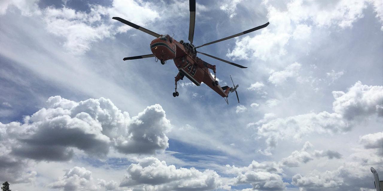 Erickson debuts composite main rotor blades