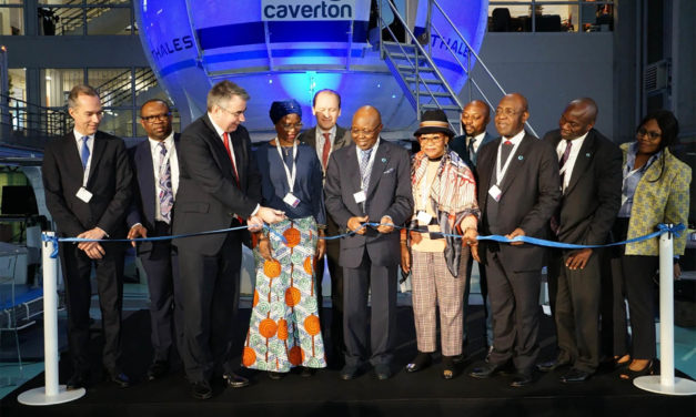 Factory acceptance of the Caverton Thales reality H simulator, first helicopter Full Flight level D simulator to be installed in Africa