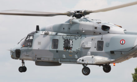 French navy'S NH90 for Operation resilience