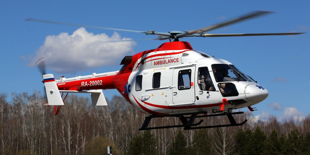 Ansat helicopters to transport patients with COVID-19 in isolation modules