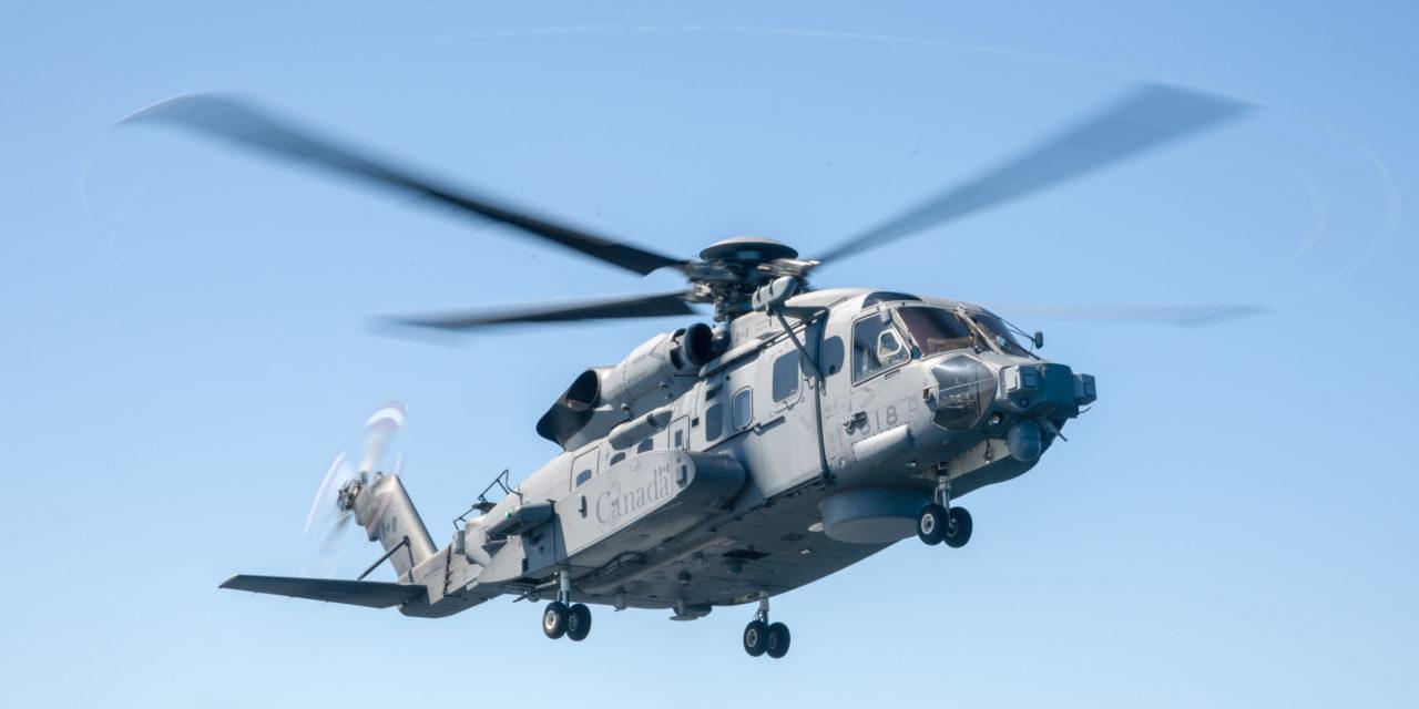 CH-148 Cyclone crashes in the Mediterranean Sea