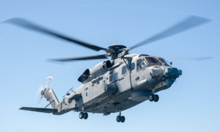 CH-148 Cyclone crashes in the Mediterranean Sea