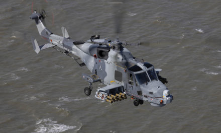 AW159  conducts first successful firings of Thales 'Martlet'