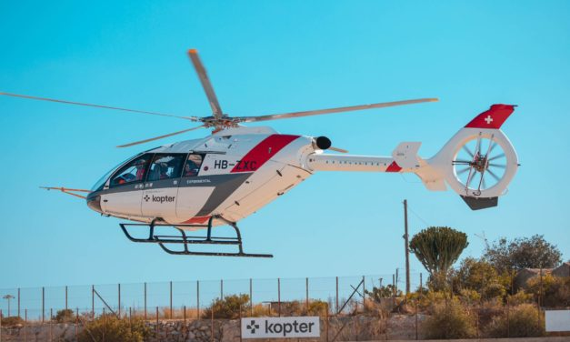 Kopter SH09 test flights go ahead in Sicily