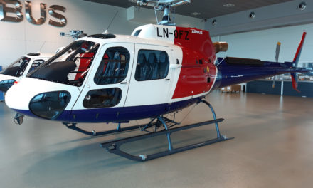 first helicopters under e-delivery process