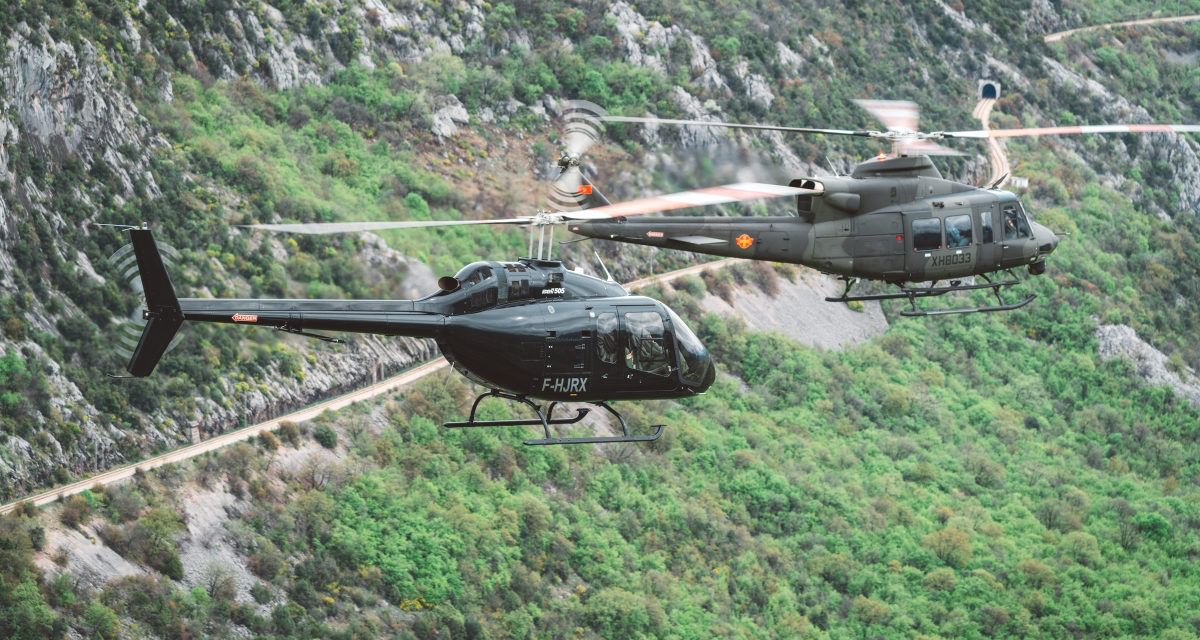 Bell 505 for montenegro