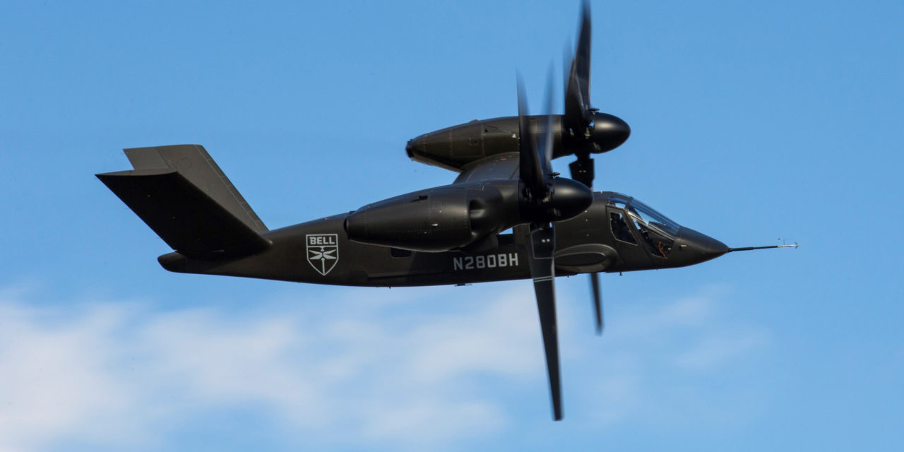 GKN Aerospace's thermoplastic components  tested on  V-280 Valor