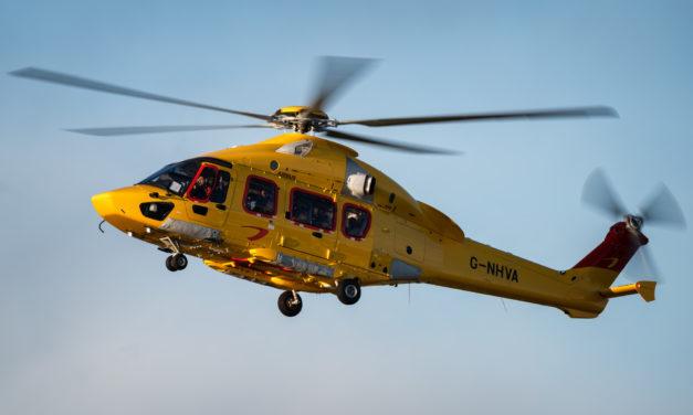 NHV's H175 fleet exceeds 40,000 FHRS