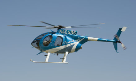MD HELICOPTERS RECEIVES CERTIFICATION FOR MD 530F MGTOW INCREASE