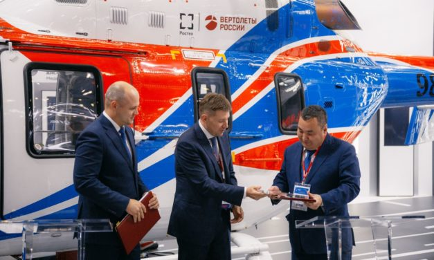 HSC and Polar Airlines sign a comprehensive service contract for Ansat helicopters