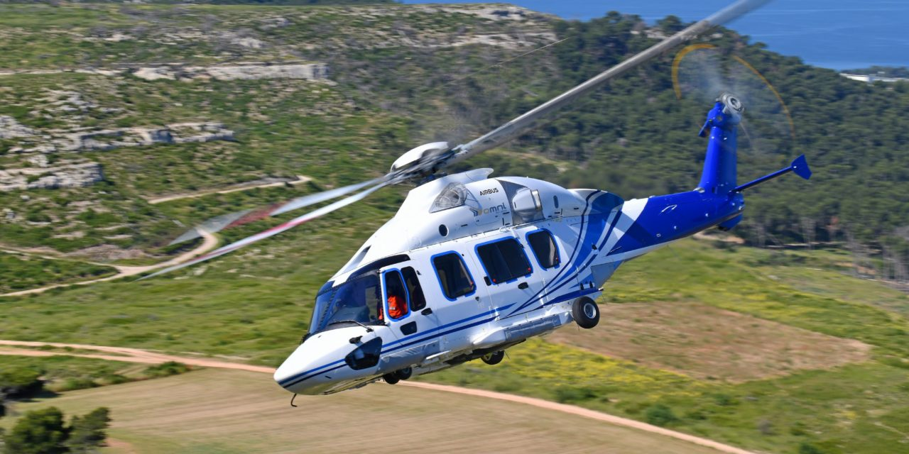 Airbus H175 to bolster Omni's oil and gas operations in Brazil