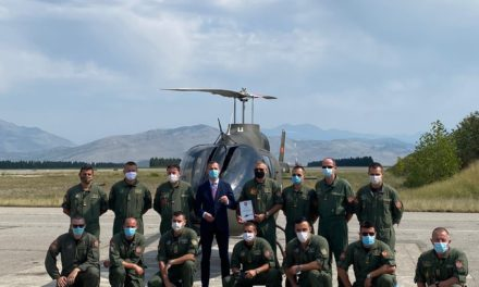Bell Delivers Montenegro Air Force's First Bell 505