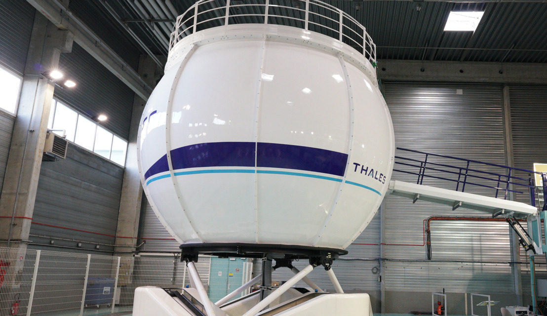 Thales flight simulator for new H160 helicopter ready for take-off