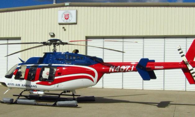 PAC International  upgraded a Bell 407 to Haiti Air Ambulance
