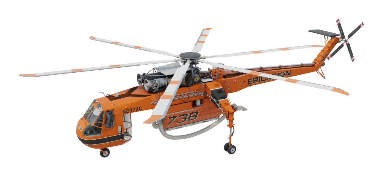 FINAL FAA CERTIFICATION OF THE COMPOSITE MAIN ROTOR BLADES ON THE S-64F AND CH-54B
