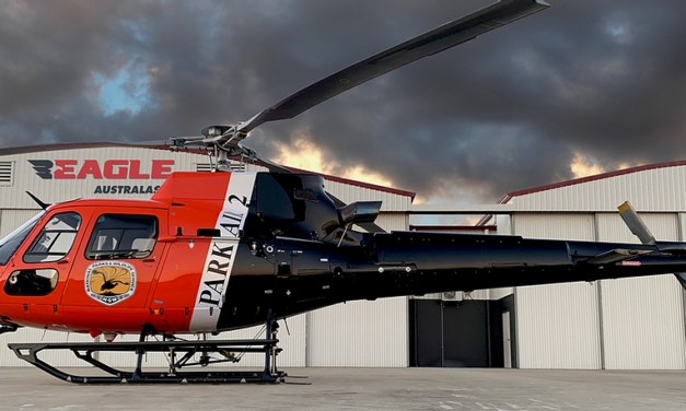 Eagle Copters supporting Edmonton Police Airbus H125, AIR-2