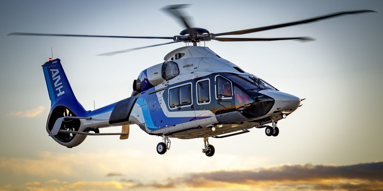 All Nippon Helicopter's H160 completes first flight
