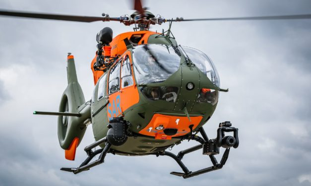 Airbus delivers seventh H145 for the German Armed Forces' Search and Rescue service