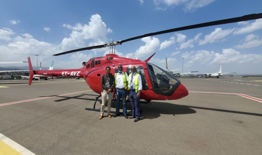 Bell Delivers First Bell 505 to Ethiopia